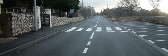 Rekonstrukcija Burićeve ulice, Šmrika