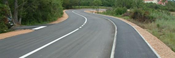 Rekonstrukcija ceste, Čižići