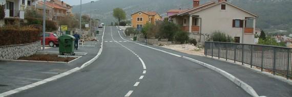 Rekonstrukcija ceste, Cres